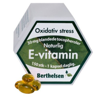Berthelsen e-vitamin 30mg  (150 tabletter)