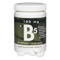 B5 vitamin 100 mg fra dfi (90 tabletter)